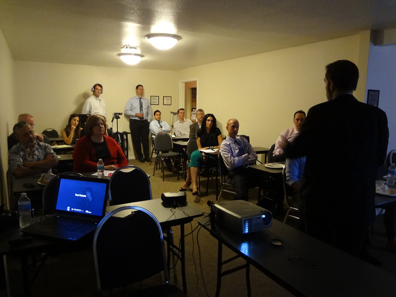 Members of the Nevada Justice Association participating in an EndDD.org training given by Joel Feldman.