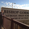 Students at Bishop Gorman High School in Las Vegas heard the EndDD.org presentation.