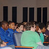Oakcrest High School students during EndDD presentation
