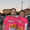 Joel Feldman & Danielle Gibson just before the race.