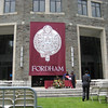 A separate diploma ceremony was held for the students graduating from Fordham College Llincoln Center.