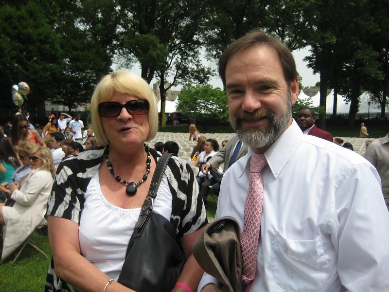 Brooke's mom, Judi Burdge and Joel Feldman (Casey's father).