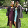 "Marie and Brooke both wore Casey's  former dresses beneath their graduation gowns.  (Click here to see a<a href=""http://caseyfeldman.smugmug.com/Shore/Misc-08-09/9209769_uxX8k#870680457_yaBBi""> photo of Casey wearing the aqua dress</a> in Aug. 2008 while outlet shopping in Atlantic City with Mom)"