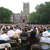 The commencement ceremony for the entire University. A prayer was said remembering those students lost from the class of 2010, including Casey.