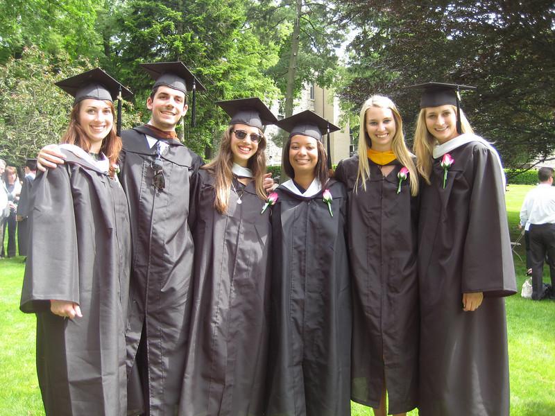 L:Christina, David Claps. Janine, Kelsey, Marie and Brooke.