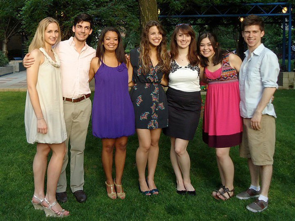 Yes, I stole this one from Facebook. Senior festivities over graduation weekend.<br /> Casey's friends:<br />  Brooke Burdge, David Claps, Kelsey Butler, Janine Repka, Christina Halligan,Cassie Foote, Jason Zeren