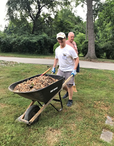 Dave Robins and Jack McGowan. Day of Service 2018