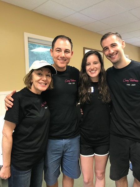 We are always deeply appreciative of Dan Bergels and Matt Thorton's support of our Foundation. It was a special treat to meet Tara! Thanks you guys! Day of Service 2018