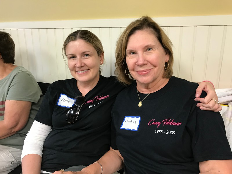 Thank you for your support Laura! Wonderful to have had the chance to meet your mom! Day of Service 2018 — with Laura Carney and Joan Wilson