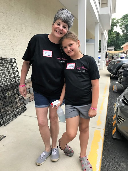 Kim and Brooklyn! Day of Service 2018 — with Kim McGowan