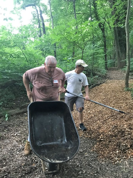 Way to go Jack and Dave! Day of Service 2018
