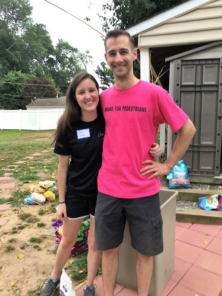 Always a special place in our heart for Matt. How wonderful to get to now meet Tara! Day of Service 2018 — with Tara Dactyl and Matt Thornton