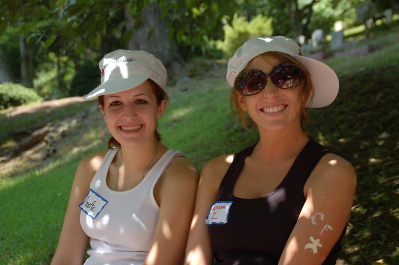 Annette Newlin and Melissa Zirolli