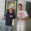 Brett Feldman (Casey's brother) and Matt Thronton