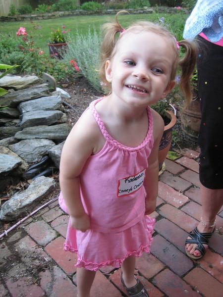 Casey's cousin Kadence.