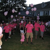 The group heads down to release the balloons into the heavens for Casey!