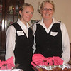 Our caterers, Bev (right) and her daughte, Kristie