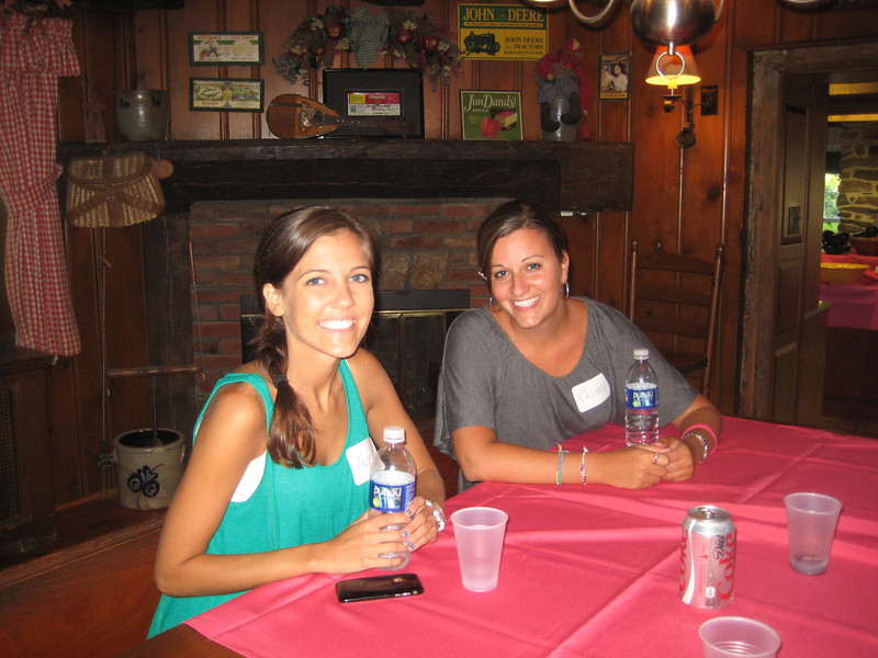 Jackie Cahill (left) and Rachael Kemmey