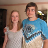 Casey's cousin Adam Seminoff and his girlfirend Amanda.
