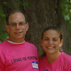 Father and daughter. Ricky and Maddy Liss.