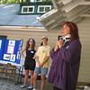 Jodi Button, Francisvale's Executive Director, addressing the groups upon their arrival in the morning.