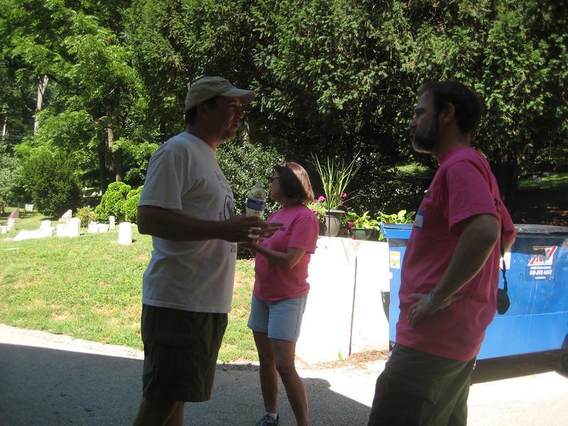 Scott Thornton, Robin Garrity and Joel Feldman