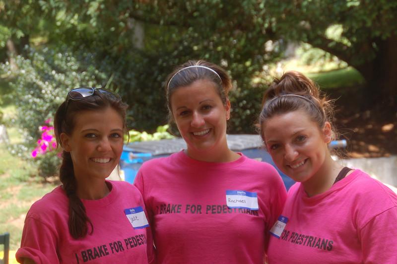 Jackie Cahill (left), Rachael Kemmey, and Kaitlyn Carullo.
