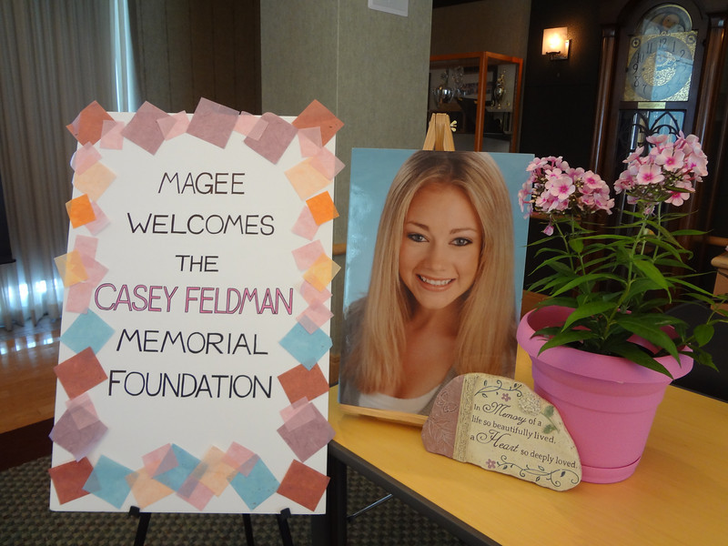 Magee welcomes the Casey Feldman Memorial Foundation