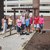 Volunteers assist with the many gardens at Magee -Melissa Hague (L), Faith Weiss, Jackie Fedeli, Bobby Gibson, Lori Gibson, Danielle Gibson, Scott Thornton & Alice McGovern