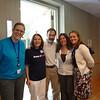 Dianne & Joel with Magee staff members