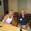 Joel's secretary, Barb Driscoll and Sam Zolton