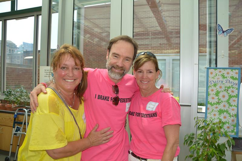 Renee Liss (L), Joel Feldman and Alice Vroome
