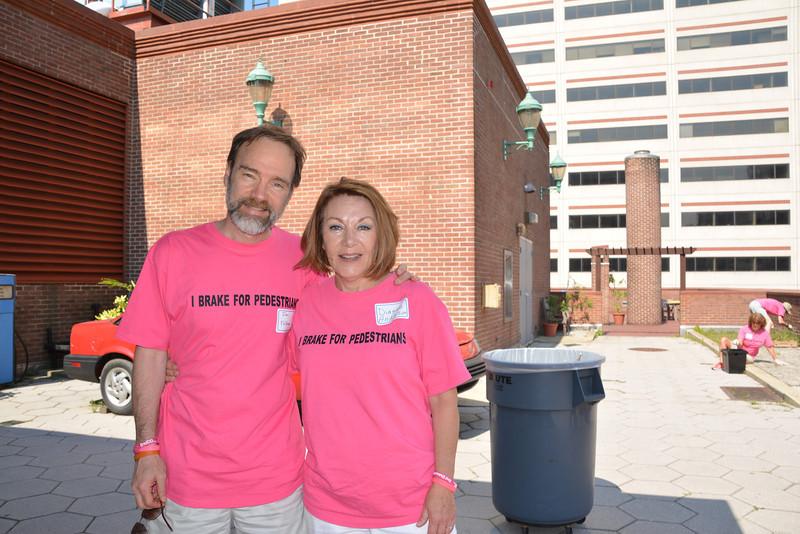 Casey's parents, Joel Feldman and Dianne Anderson