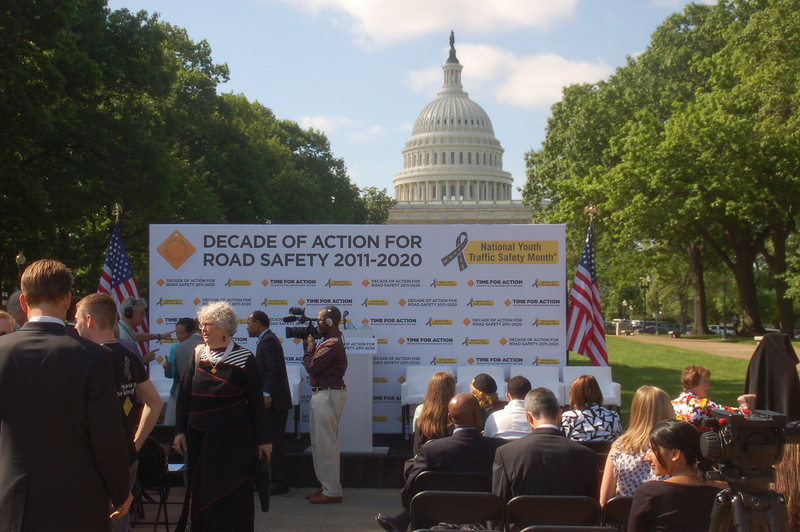 The morning press event launching the Decade of Action For Road Safety 2011-2020
