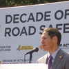 Dr. Thomas R. Frieden, M.D., MPH, Director of the Centers for Disease Control and Prevention (CDC) and Administrator of the Agency for Toxic Substances and Disease Registery addressing the crowd
