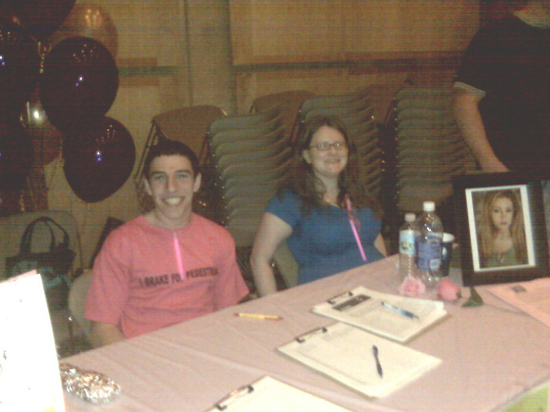 Students were able to sign up to be notified of future volunteer opportunities and community service projects.