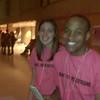 More Phi Sigma Pi students.Teric Skerrett and?