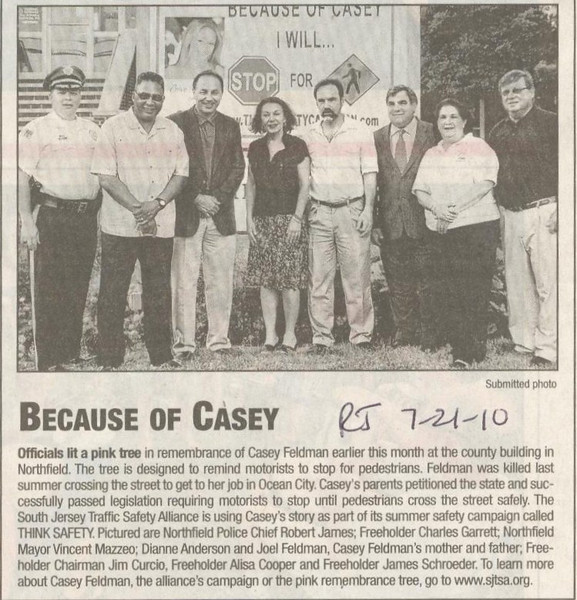 Published in the Northfield Record Journal