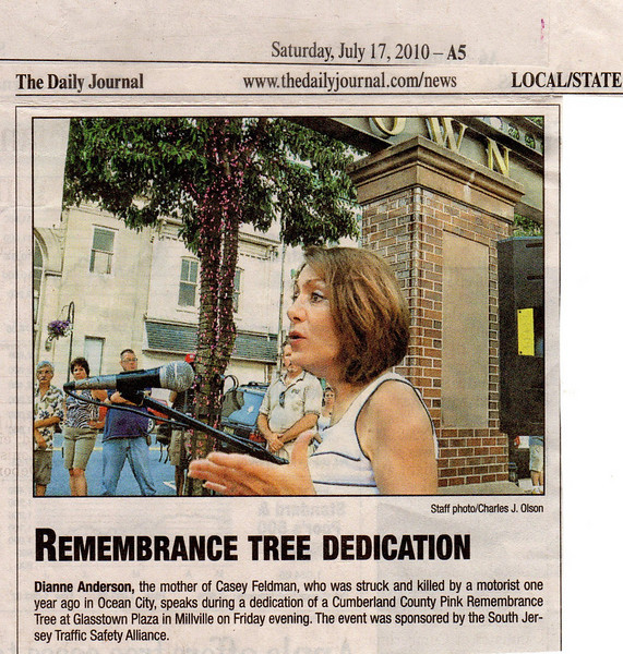 Appearing in Saturday's local paper - The Daily Journal.
