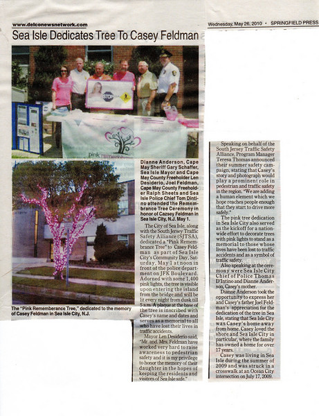 "Run your mouse over the photo to enlarge for reading or<a href=""http://caseyfeldmanmemories.org/archive/files/sea-isle-city-dedicates-pink-remembrance-tree_12cd76c3b6.pdf""> click here</a> to read the PDF version."