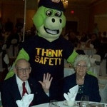 Casey's grandparents, Martin & Winnie Anderson at the awards luncheon