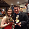 SHS 2012 student Cappies winners, Bridget Elise Yingling - Best Featured Actress in a Play and James Cella -Senior Male Critic Award