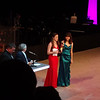 Bridget Elise Yingling accepting her Cappie award for - Best Featured Actress in a Play