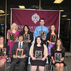 The Senior Leadership Award Recipients!<br /> <br /> Front L to R: Katy Corum, Dave de la Fuente, Ashley WennersHerron, Katie Feeney<br /> Back  L to R: Meghan Carpentier, Kelly Sosa, Tim Jalbert, Heather A.
