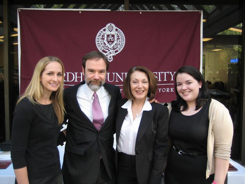 Brooke Burdge, Joel Feldman, Dianne Anderson and Ashley Wennersherron