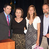 John Gildea (left), Dianne Anderson, Christy Kobasa and Joel Feldman at the SHS Honors Reception on June 2, 2010
