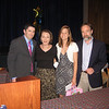 L to R: John Gildea, Dianne Anderson, Christy Kobasa and Joel Feldman