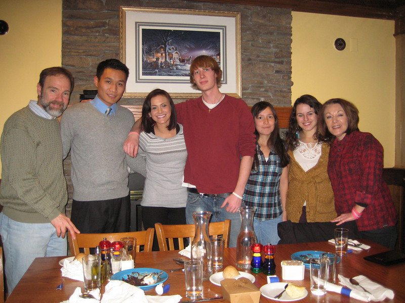"2011 Alternative Spring Break Scholarship recipients with Casey's parents. From left to right: Joel Feldman, Nicholas Zhou, Erika Durbin, Ricky Bell, Amber Diaz, Patrycja Humienik, and Dianne Anderson  To read the articles about the Alternative Spring Break Program and its many Casey Feldman Foundation scholarship recipients, <a href=""http://www.caseyfeldmanfoundation.org/blog/?cat=150"">click here to go to Foundation News and Updates/ CU/Alternative Spring Break.</a>"