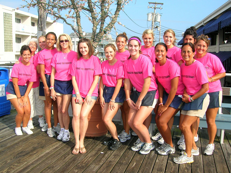 "The morning staff at Bob's Grill on the boardwalk on July 17, 2010 in front of the tree.  To see more photos from the July 17, 2010 Day of Service and Remembrance,<a href=""http://caseyfeldman.smugmug.com/Remembering-Casey/July-17-2010-Day-of-Service""> click here</a>."