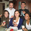 11-20-2010 The NY roomies come for a visit! Janine Repka (left) Callie Fisher, Kelsey Butler, Joel and Nick Seminoff